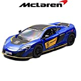 #6: Kinsmart - 1/36 McLaren 675LT (Exclusive Edition) (Blue)