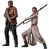 Kotobukiya - Figura Star Wars Finn y Rey Pack