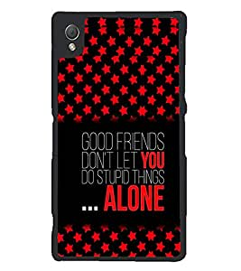 PRINTSWAG QUOTE Designer Back Cover Case for SONY XPERIA Z3