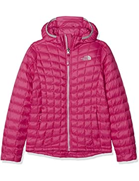 The North Face Thermoball Hoodie Chaqueta, Niña, Petticoat Pink, XL