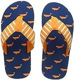 Hatley Jungen Flip Flop Zehentrenner, Blue (Tiny Whales), 24 EU
