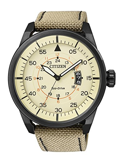 Citizen Aviator Eco Drive AW1365-19P – Men's Wristwatch