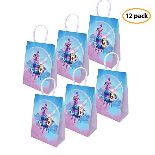 Yizeda Juego Party Bags Goody Favor Bags Llama Llama