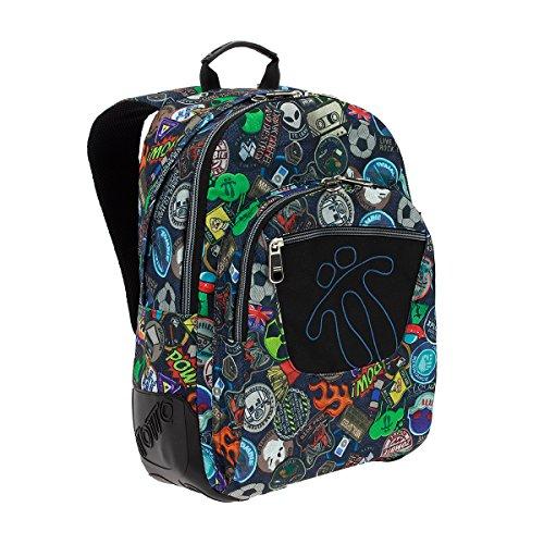 Imagen de totto ma04eco002 1710n 1ly crayola  tipo casual, 44 cm, 20 litros, multicolor alternativa
