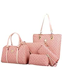 Handbags Combo Set Of 5 For Women And Girls/stylish & Latest Fashion/Sling Bag/Shoulder Bag/Money Purse/Coin Pouch