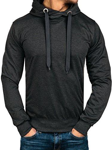 bolf-felpa-con-cappuccio-sweatshirt-pullover-maniche-lunghe-tinta-unita-classic-uomo-1a1