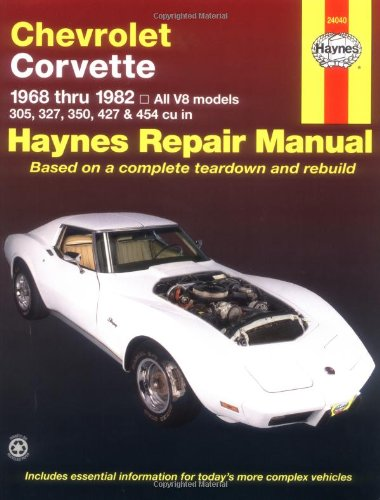 chevrolet-corvette-1968-82-automotive-repair-manual-usa-service-repair-manuals