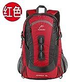 Outdoor rucksack outdoor backpackers Schultern klettern Taschen , Rot ,40 l