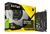 ZOTAC GeForce GTX 1050 Ti Mini Grafikkarte (NVIDIA GTX 1050 Ti, 4GB DDR5, 128bit, Base-Takt 1303 MHz, Boost-Takt 1417 MHz, 7 GHz)