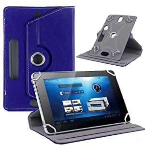 "Hello Zone Exclusive 360° Rotating 10"" inch Flip Case Cover Book Cover for Asus ZenPad 10 (Z300C) -Blue"