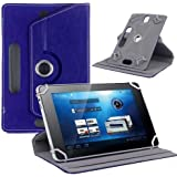 """Hello Zone Exclusive 360° Rotating 10"""" Inch Flip Case Cover Book Cover For Asus Transformer Book T100 -Blue"""