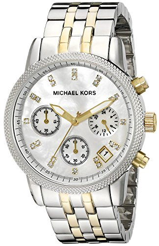 michael-kors-mk5057-bicolore-cronografo-da-donna