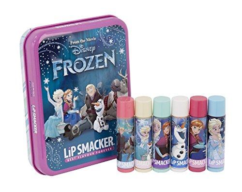 Lip Smacker Disney Reine des Neiges Lumières du Nord Coffret Métal Set de 6 Baumes à Lèvres