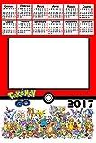 Calendario Personalizado 2017con 1foto, Art.395Pokemon Go, tamaño 30x 45completo de encuadernar y Gancino de pared.