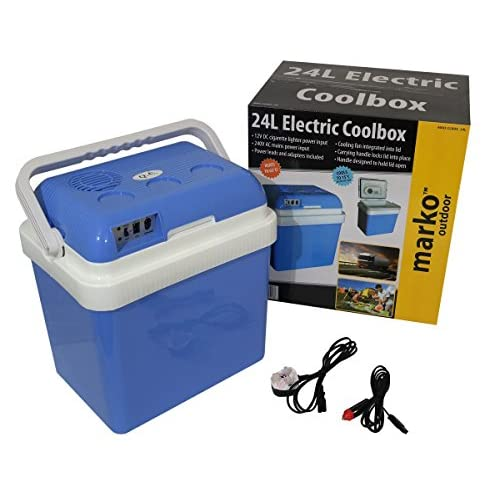 51ehQrKmG5L. SS500  - Marko Cool Box Food Drinks Cooler Electrical Heater Portable (24 Litre Electrical Coolbox)
