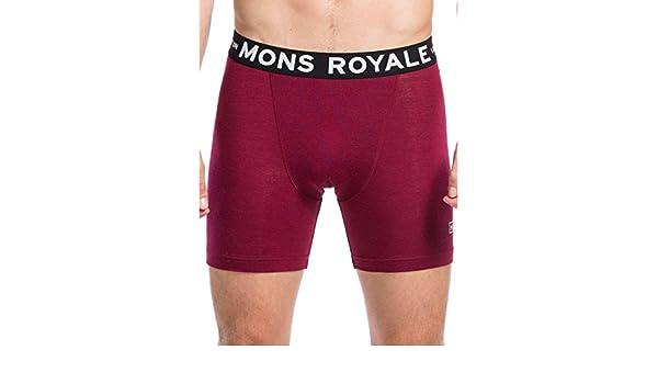 96a62c2f1 Underwear Men Mons Royale Hold 'em Box Logo Boxershorts: Amazon.co ...