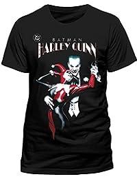 Batman Men's Joker & Harley Quinn T-Shirt