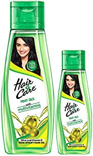 Hair & Care Fruit Oils Green, 300ml with Free 1