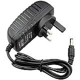 JOYLAND 12V 2A UK Power Adapter AC 230V to DC 2.1mm X 5.5mm Plug Regulated Power Supply Wall Plug for LED Copper String Light
