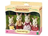 Toy - Sylvanian Families 3125 - Schokoladenhasen Familie Löffel, Puppen