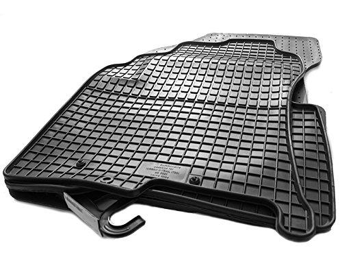 Gummimatten T30 Original Qualität (Passgenau) Gummi Fußmatten 4-teilig schwarz (Nissan Xtrail 2002 Zubehör)