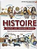 Histoire:toutes les grandes dates: Depuis les premiers hommes jusqu'à nos jours!...