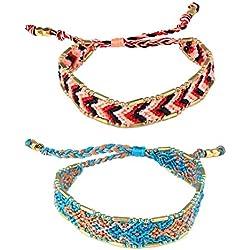 Macrame pulseras hechas a Mano De Colores