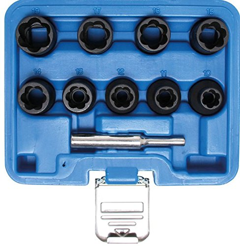 Bgs spécial Lot de douilles, 10-19 mm, 12,5 mm, 10 pièces, 1, 5266