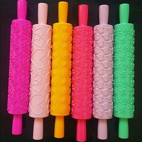 Fengh plástico colorido decoración pasteles horno