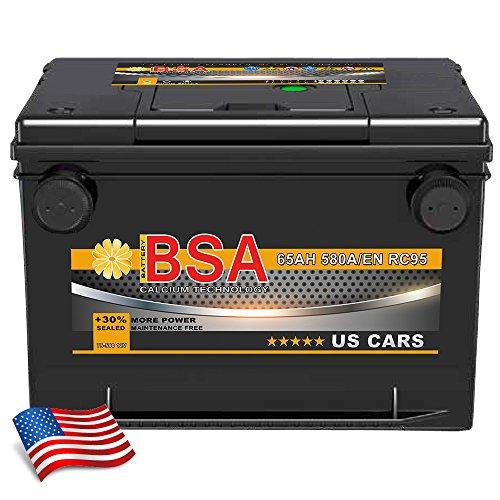 Autobatterie 65Ah für USA amerikanische Fahrzeuge Sebring, Startus