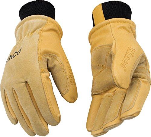 Kinco Handschuhe, Schweinsleder, S, gold, 1