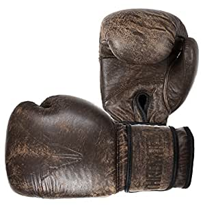Throwdown lite vintage gants de boxe marron 14 oz amazon - Gants de boxe vintage ...
