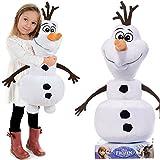 Die Eiskönigin Olaf der Schneemann Disney Plüschfigur 65cm groß XXL Frozen Plüschtier Stofftier Kuscheltier