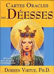 Cartes Oracles des Déesses - 44 cartes avec un guide d'accompagnement