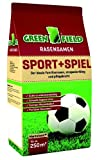 Greenfield Sport + Spielrasen   5kg Rasensaat für etwa 250m² Fläche