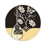 Bouzouki–Griechisch Musical instruement bedruckt Kühlschrank Magnet 58mm groß rund Button Neuheit Geschenk