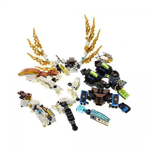 Preisvergleich Produktbild 1 x Lego System Teile Set Modell Ninjago Drache 70734 70736 Chima 70008 incomplete unvollständig