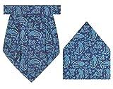 #8: Tiekart Silk-Don'T Dare To Miss Me-Cravat + Pocket Square Combo