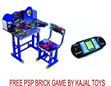 #4: Kajal Toys Combo Offer Kids Durable Study Table Princess Character/Wooden Table Nice Quality with Kajal Toys Hoopa Hula(Study+Games at One Place)/Best for Kid Gift