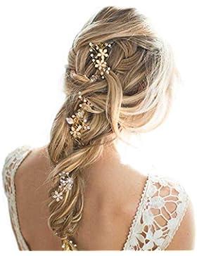 gracewedding 11,8pulgadas moda cristales diadema novia boda tocado accesorios