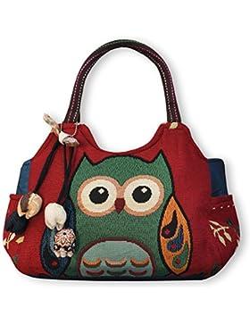 Eule Eulen Tasche Handtasche Henkeltasche ***EULE*** Shoppertasche Schultertasche Eulenmotiv Umhängetasche - verschiedene...