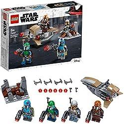 LEGO®-Pack de Combate: Mandalorianos Star Wars Juego de construcción, Multicolor 75267