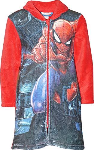 Marvel HS2055 Spiderman - Albornoz niño Forro Polar