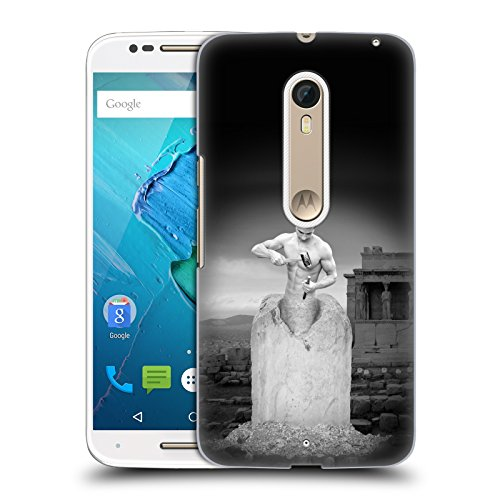 Ufficiale Thomas Barbey Self Made Man Illusioni Cover Retro Rigida per Motorola Moto X Style / Pure