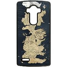 juego del caso wwn3x6 negro de Mickey Mouse teléfono funda caso funda de teléfono celular lg g4 tronos 2r1us4