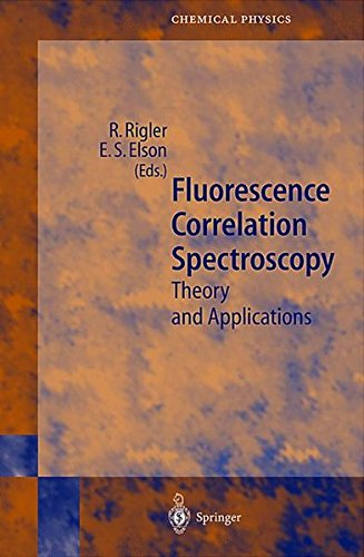 Fluorescence Correlation Spectroscopy. : Theory and Applications par Rudolf Rigler