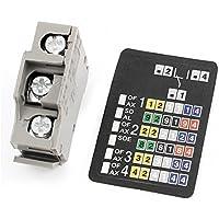 DealMux Disjuntor auxiliar de contacto para UL 489, AC, 600V / 3 Amp, 480V / 6 Amp DC, 250V / 0,3 Amp, 125V / 0,6 Amp, 48V / 2,5 Amp