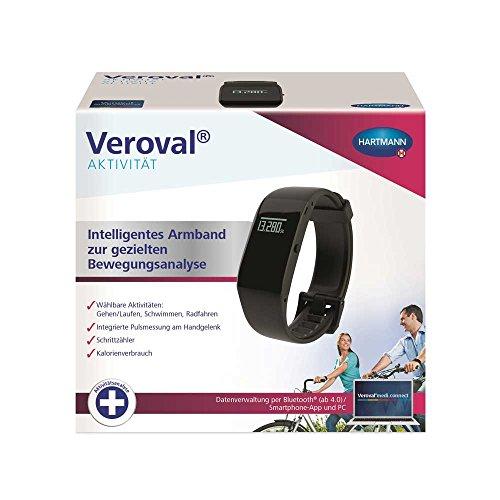 Hartmann Veroval Aktivitätsarmband, Aktivitätstracker Fitness Watch Bluetooth USB-Adapter App