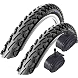 Schwalbe Land Cruiser 700 x 35c Hybrid Bike Tyres with Schrader Tubes (Pair)