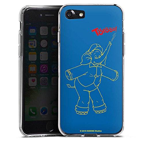 Apple iPhone X Silikon Hülle Case Schutzhülle Benjamin Blümchen Fanartikel Merchandise TÖRÖÖÖ! Silikon Case transparent